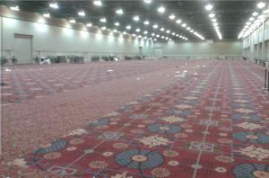 Empty Artist Alley - Photo cred: @JorshFrench