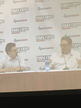 Tom Kenny entertains fans with voice acting stories and favorite voices.